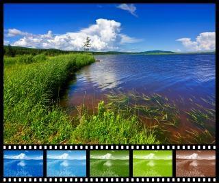 Beaver brook échantillonneur film couleur