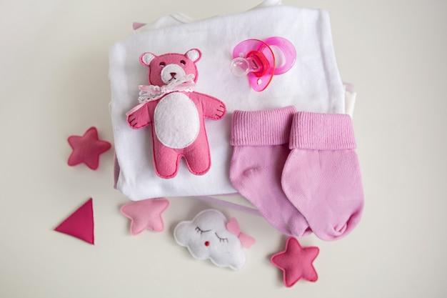 Bébé vêtements bébé fille tétine