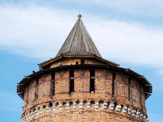 Beckground russe d'architecture de tour de château