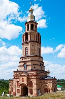 Beffroi monastère de nicolas région d'orenbourg le village de pokrovka russie
