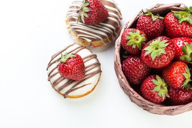 Beignet à la fraise
