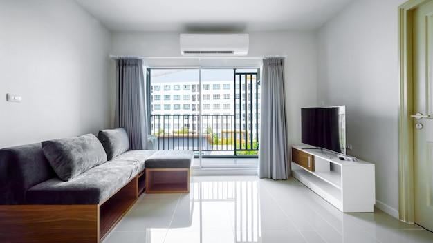 Bel appartement intérieur moderne, salon contemporain
