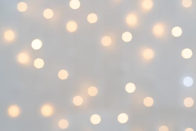 Bel Effet De Lumière Bokeh Fond De Noël Photo Premium