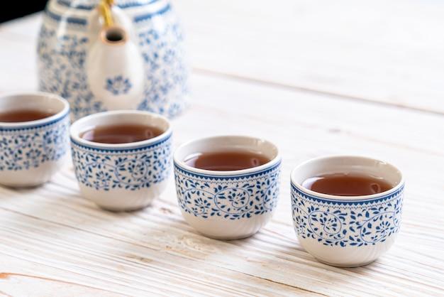 Bel ensemble de thé chinois