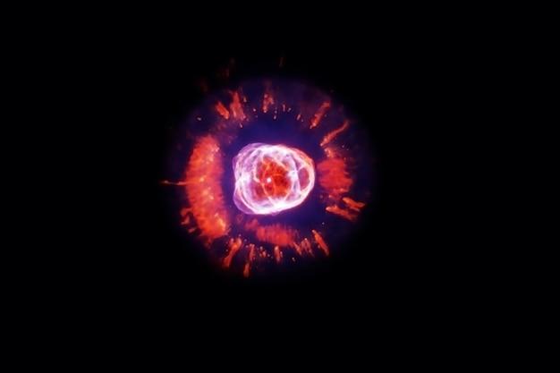 Bel espace lumineux. les éléments de cette image ont été fournis par la nasa. photo de haute qualité