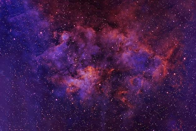 Bel espace profond avec des étoiles et des zones lumineuses les éléments de cette image ont été fournis par la nasa