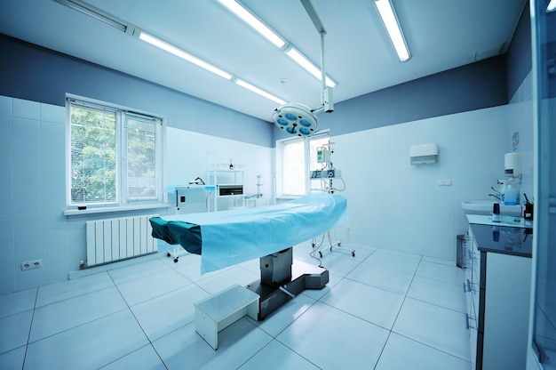 Bel intérieur d'une opération chirurgicale
