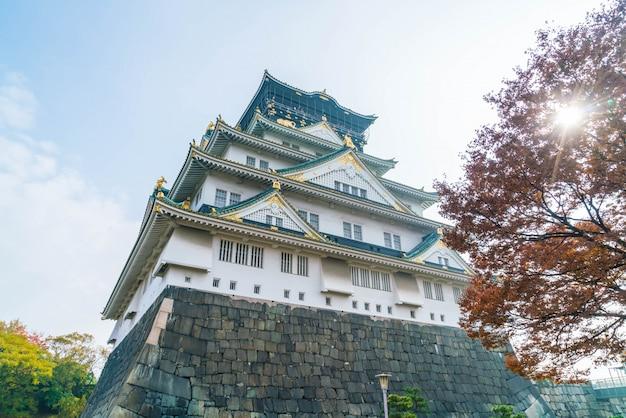 Belle architecture au château d'osaka