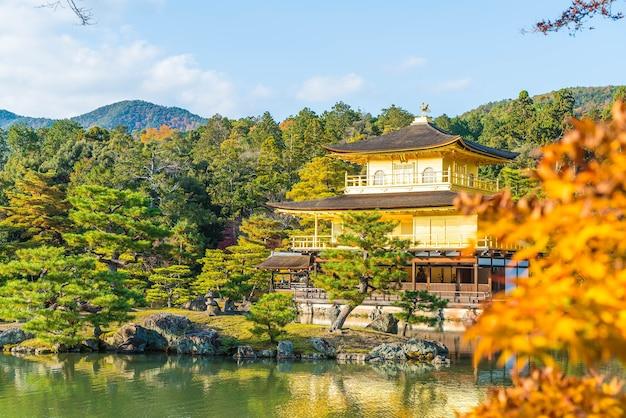 Belle architecture au temple de kinkakuji