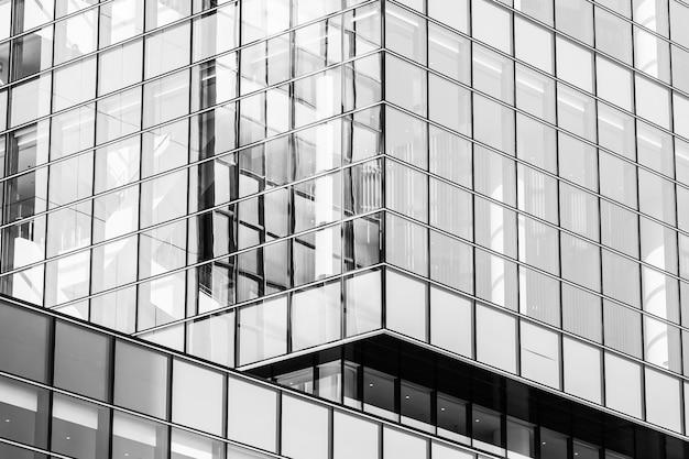 Belle architecture bureau entreprise avec la forme de la fenêtre