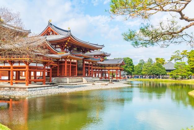 Belle architecture byodo-in temple à kyoto.