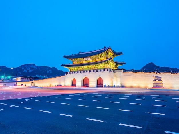 Belle architecture du palais gyeongbokgung