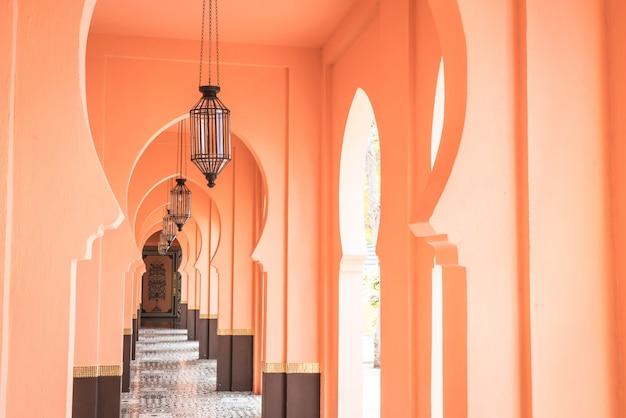 Belle architecture de style maroc