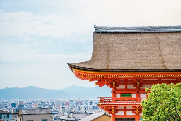 Belle architecture de temple kiyomizu-dera kyoto, japon