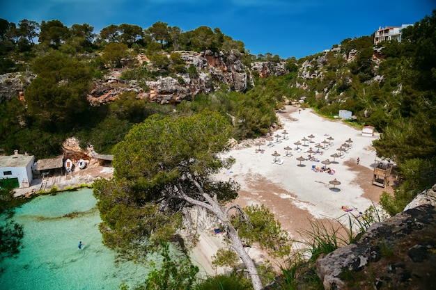 Belle baie de majorque - la plage cala pi