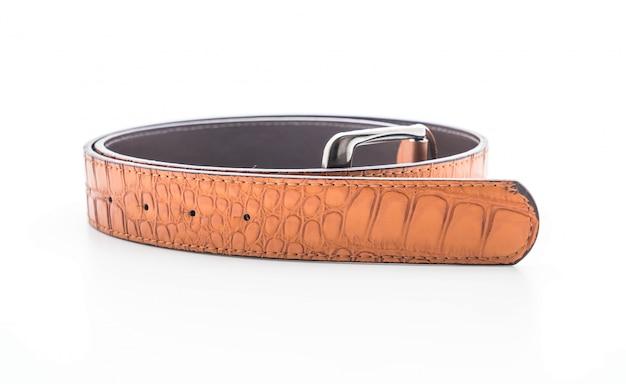 Belle ceinture en cuir