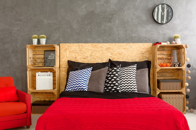 Belle chambre garantie un bon sommeil