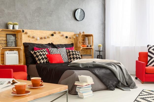 Belle chambre idéale pour se détendre