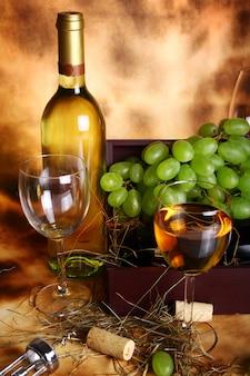Belle composition de vin