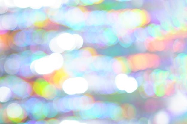Belle couleur de lumière bokeh, fond d'écran festif défocalisé