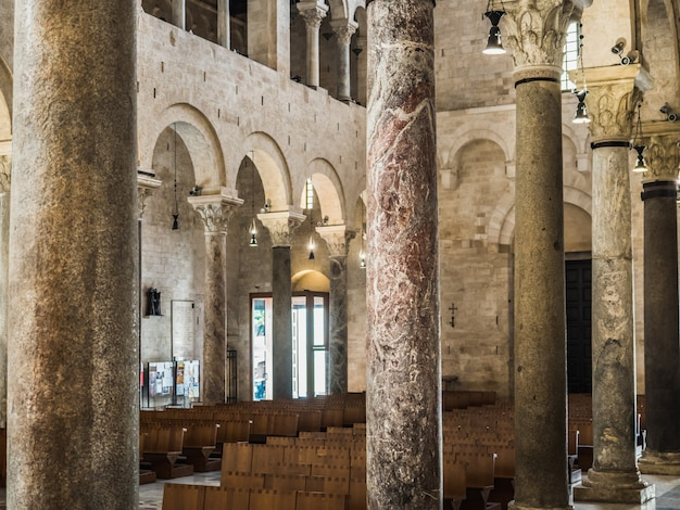 Belle église italienne du moyen âge