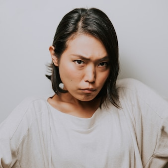 Belle femme japonaise, moments de vie