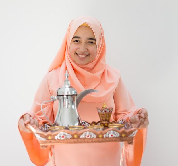 Belle fille arabe musulmane