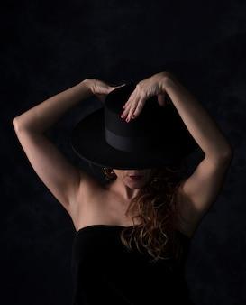 Belle fille danse