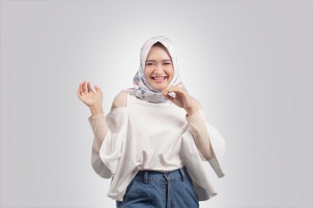 Belle fille hijab