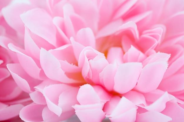 Belle fleur artificielle rose faite avec des filtres de couleur, une couleur douce et un style flou pour l'arrière-plan