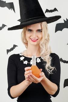 Belle jeune sorcière