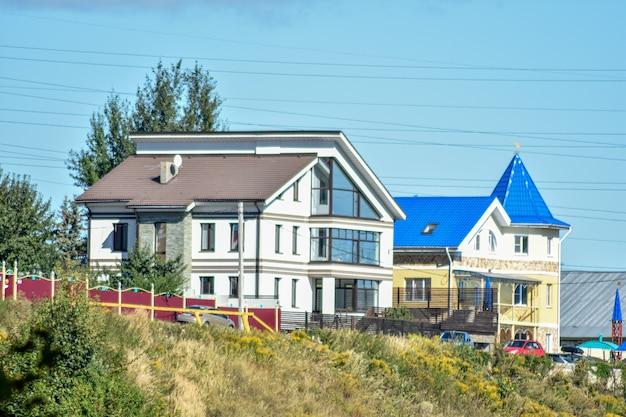 Belle maison sur la colline