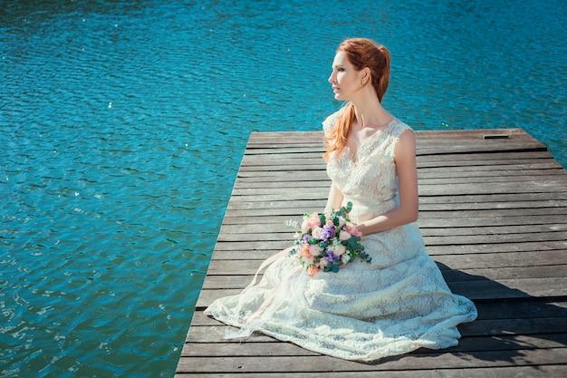 Belle mariée au jour du mariage