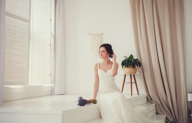 Belle mariée de luxe