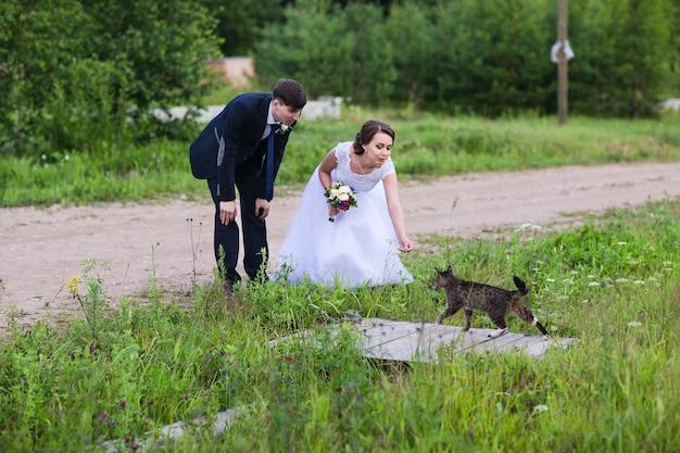 Belle mariée et le marié