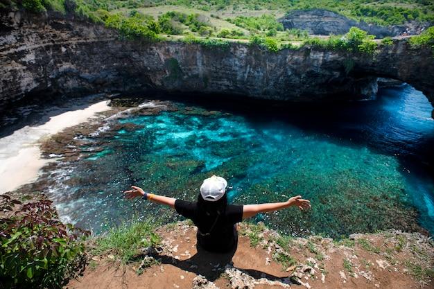 Belle mer bali île indonésie