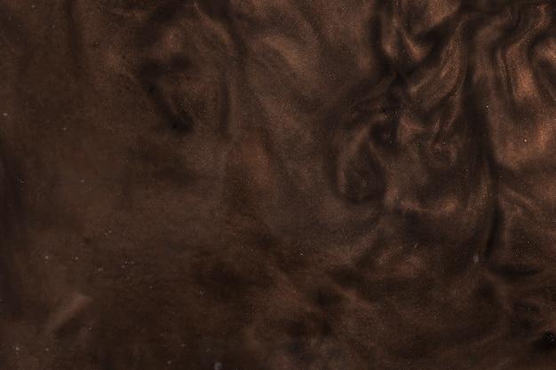 Belle peinture rigide brune