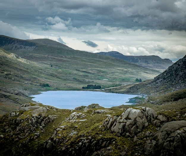 Belle photo du parc national de snowdonia