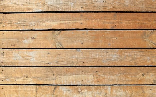 Belle photo d'un vieux mur en bois