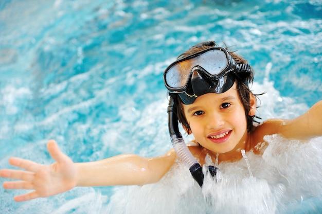 Sur une belle piscine, super bon moment d'été!