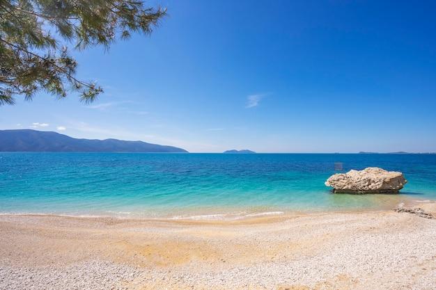 Belle plage en albanie vlore
