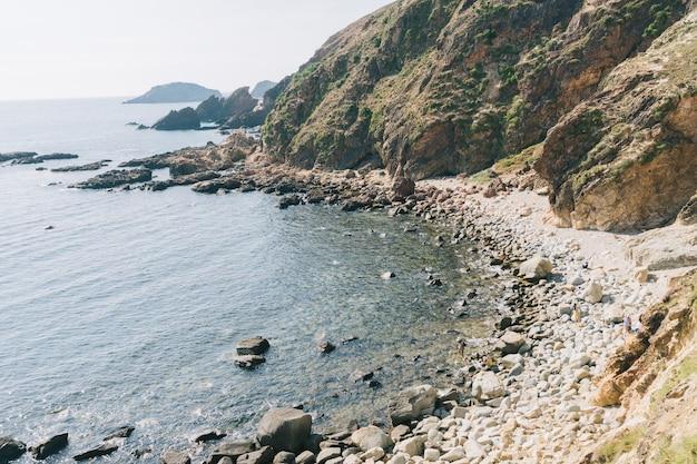 Belle plage en asie