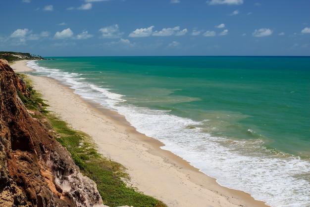 Belle plage conde près de joao pessoa paraiba brésil