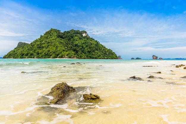 Belle plage à talay waek krabi
