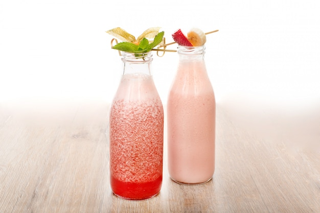 Belle portion de deux cocktails