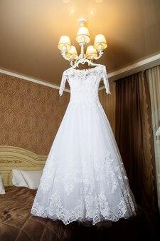 Belle robe pour la mariée