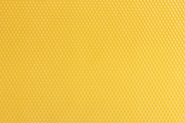Belle surface en nid d'abeille jaune