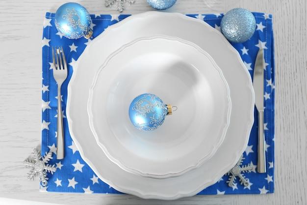 Belle table de noël