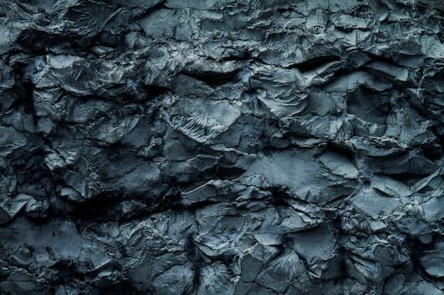 Belle texture du vieux grunge de mur en béton concassé. couleur grise. contexte d'arrière-plan. horizontal. couleurs bleues.