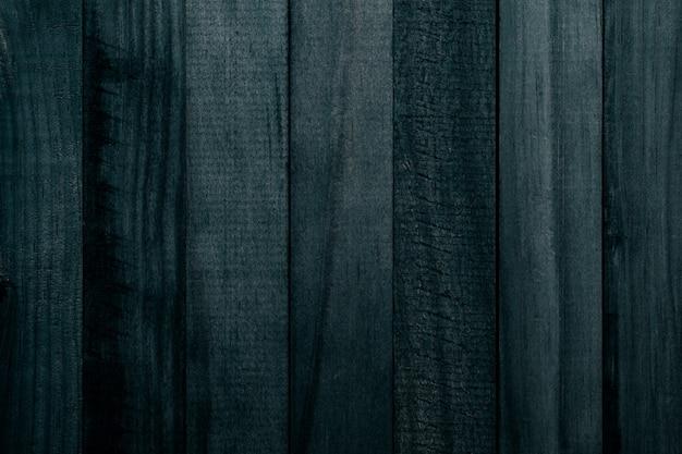 Belle texture de lattes de bois naturel de couleur vert foncé